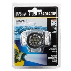 7 LED Headlamp - New
