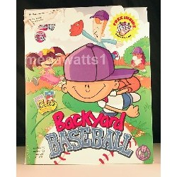 Backyard Baseball CD Only -...